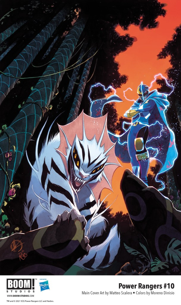 Power Rangers #10