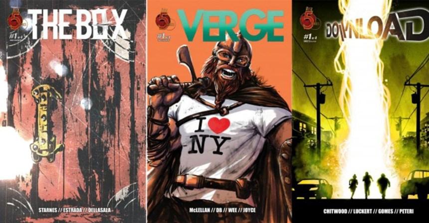 Red 5 Comics SDCC Variants