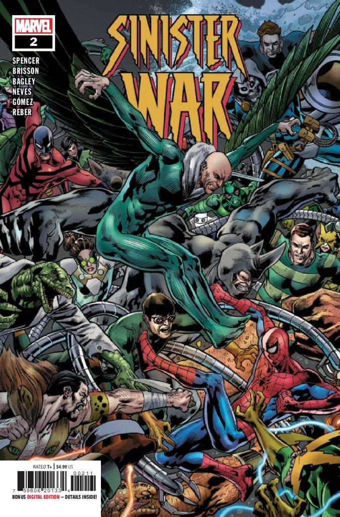 Sinister War #2 (of 4)