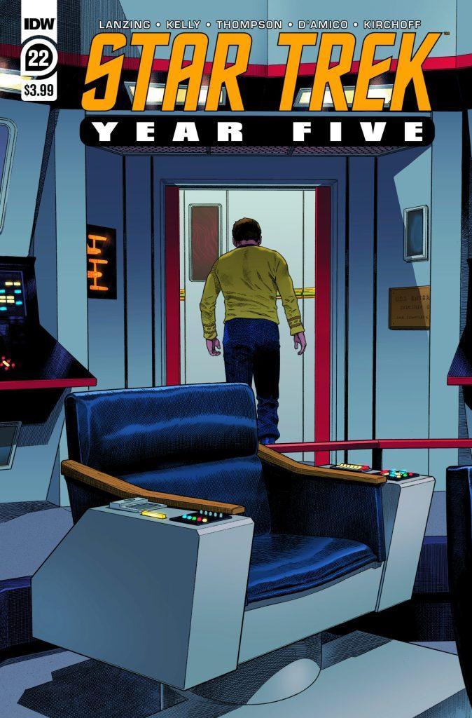 Star Trek: Year Five #22
