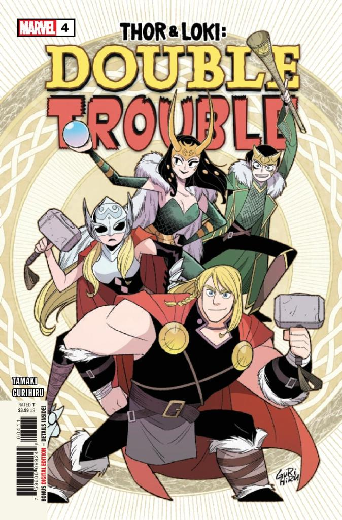 Thor and Loki: Double Trouble #4 (of 4)