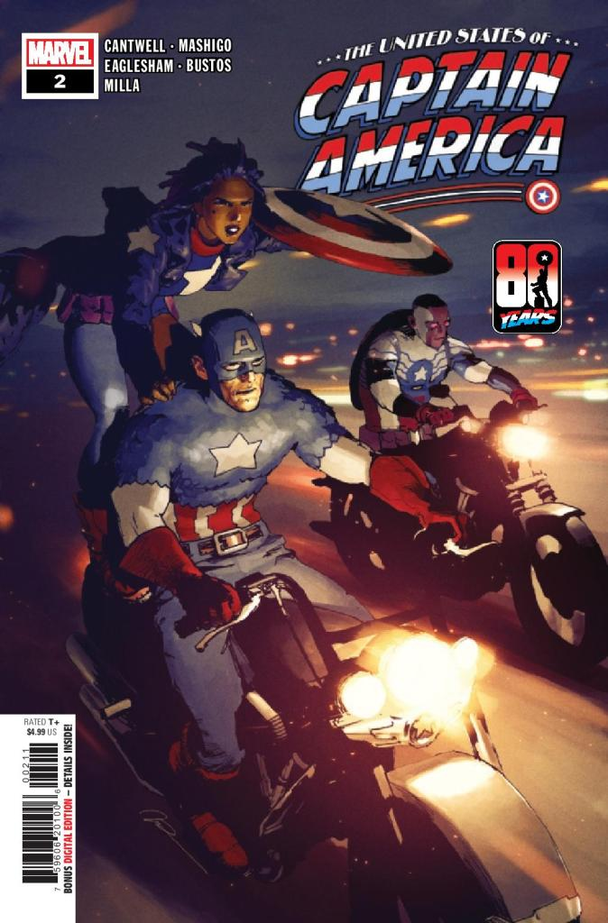 United States of Captain America #2 (of 5)