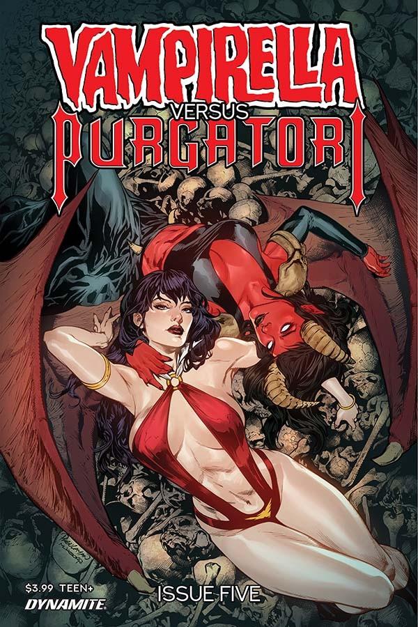 Vampirella Vs Purgatori #5