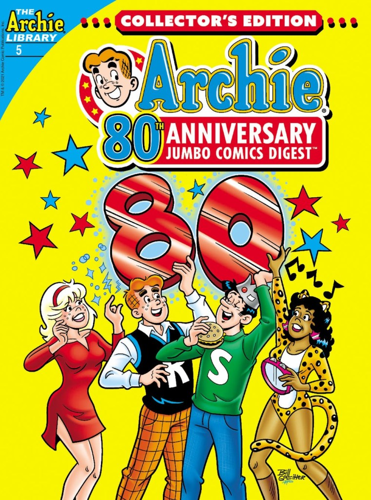 ARCHIE 80TH ANNIVERSARY JUMBO COMICS DIGEST #5