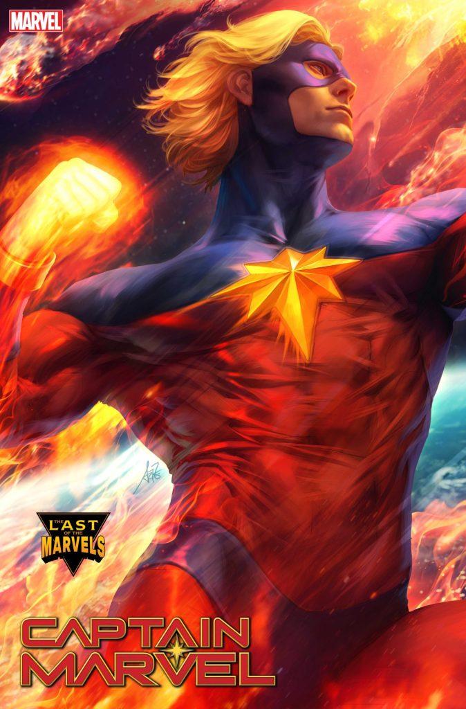 Captain Marvel #34 Artgerm variant