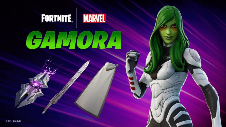 Fortnite Gamora