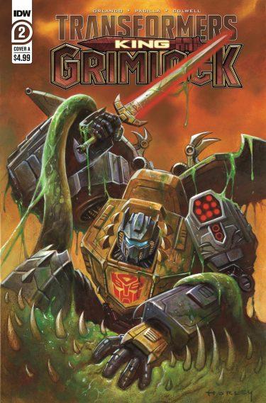 Transformers: King Grimlock #2