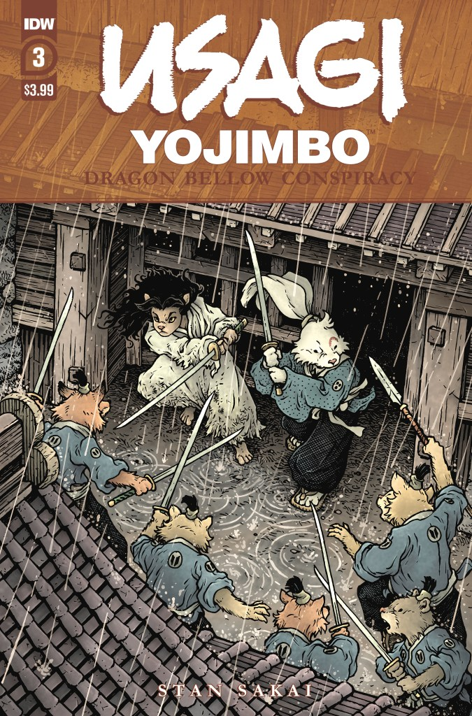 Usagi Yojimbo: Dragon Bellow Conspiracy #3 (of 6)