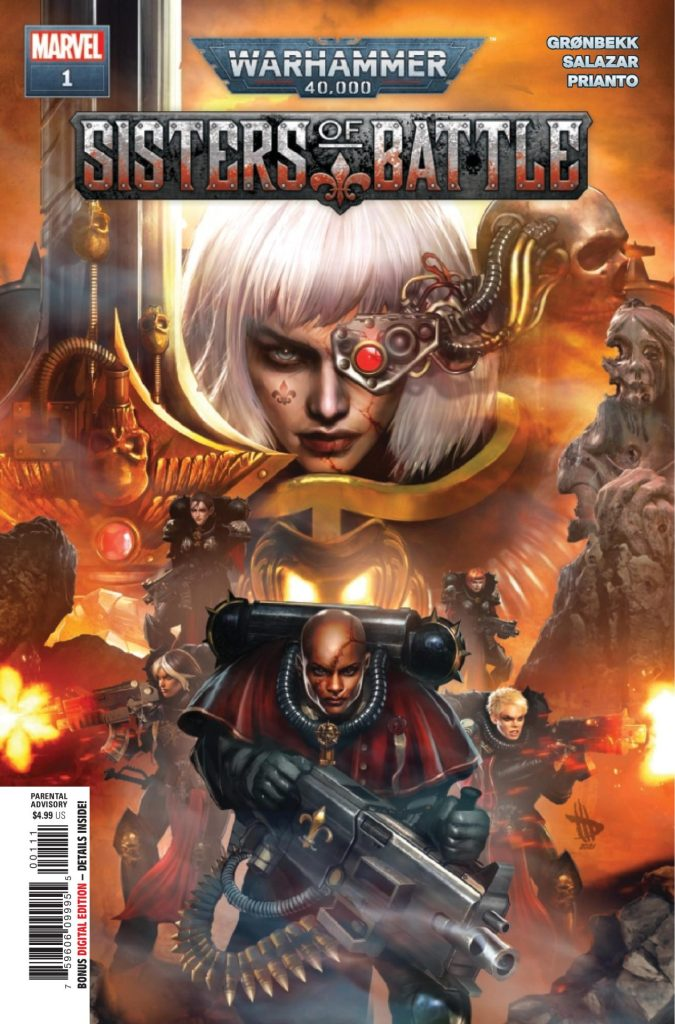 Warhammer 40,000: Sisters of Battle #1 (of 5)