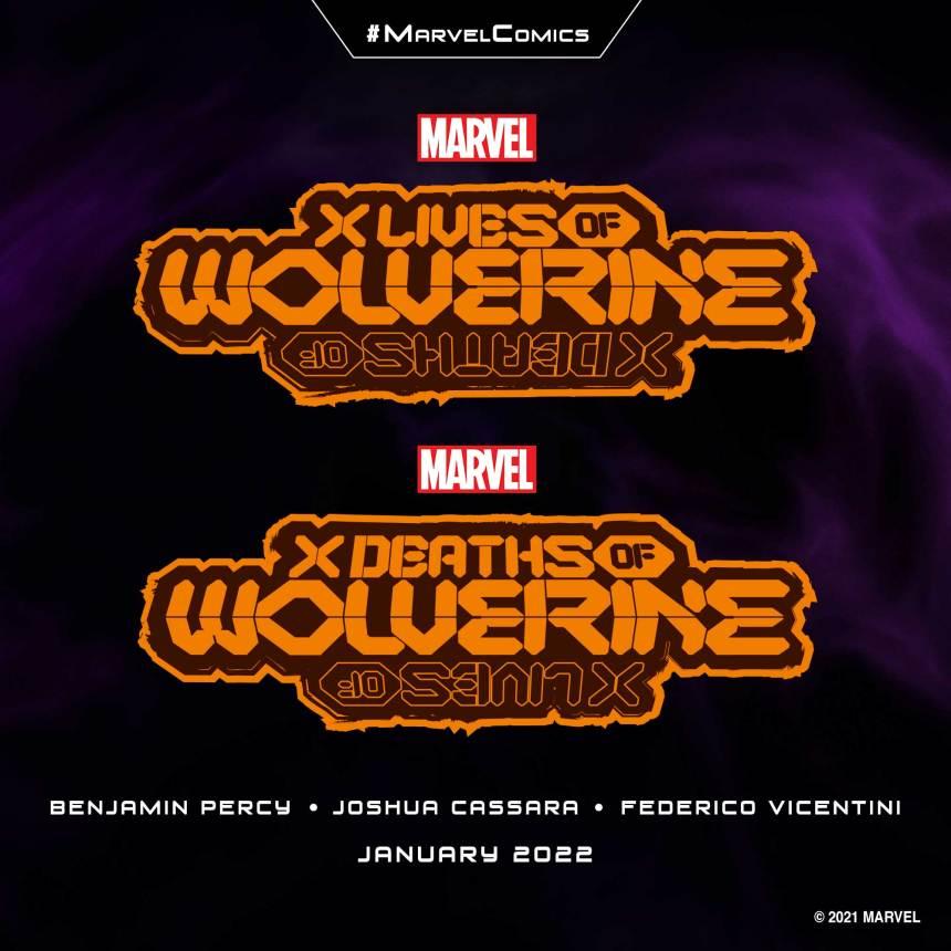 X Lives of WolverineX Deaths of Wolverine