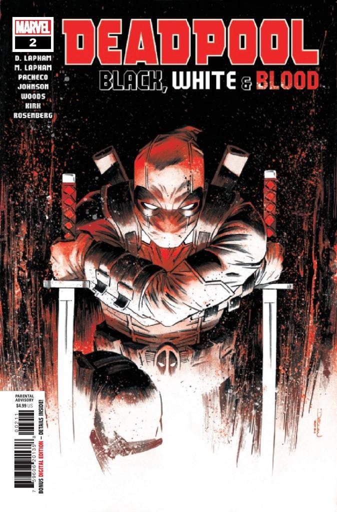 Deadpool: Black, White, & Blood #2 (of 5)
