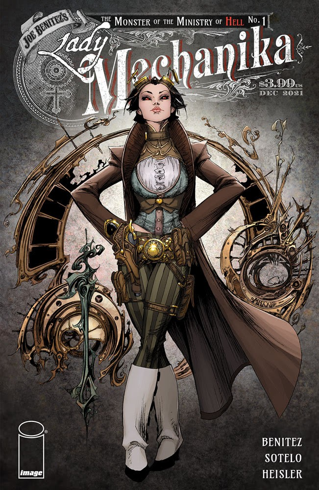 Lady Mechanika: The Monster of the Ministry of Hell