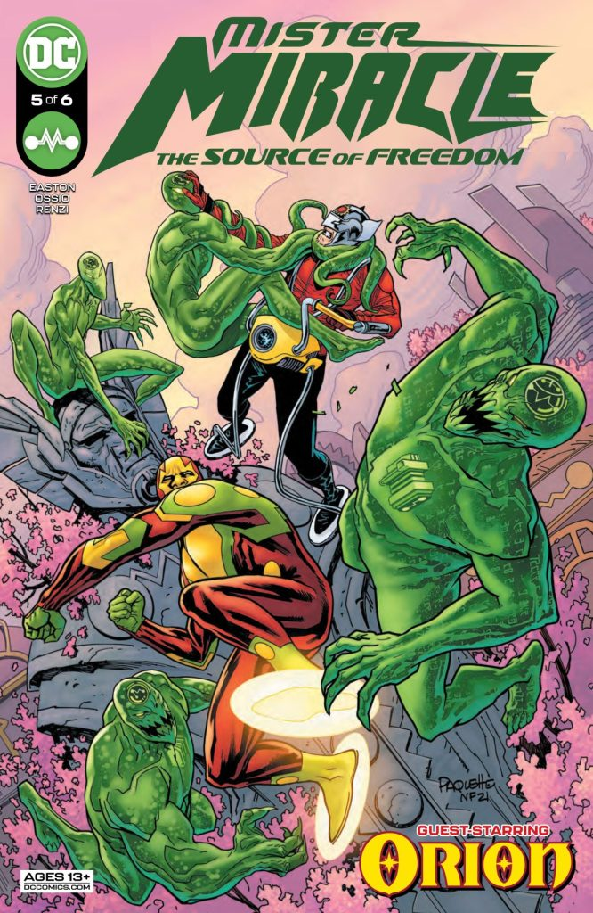 Mister Miracle: The Source of Freedom #5