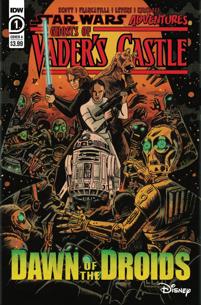 Star Wars Adventures: Ghosts of Vader's Castle - Dawn of the Droids #1 (of 5)