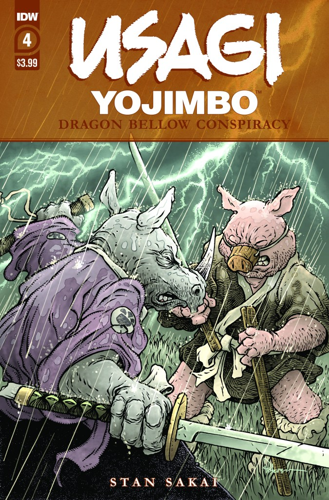 Usagi Yojimbo: Dragon Bellow Conspiracy #4 (of 6)