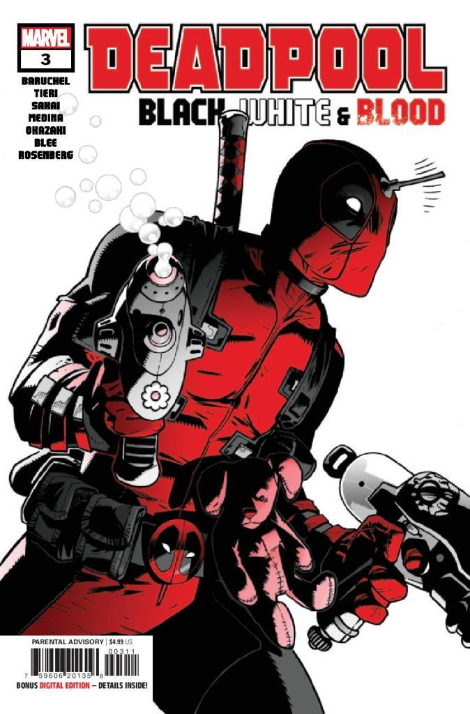 Deadpool: Black, White, & Blood #3 (of 4)