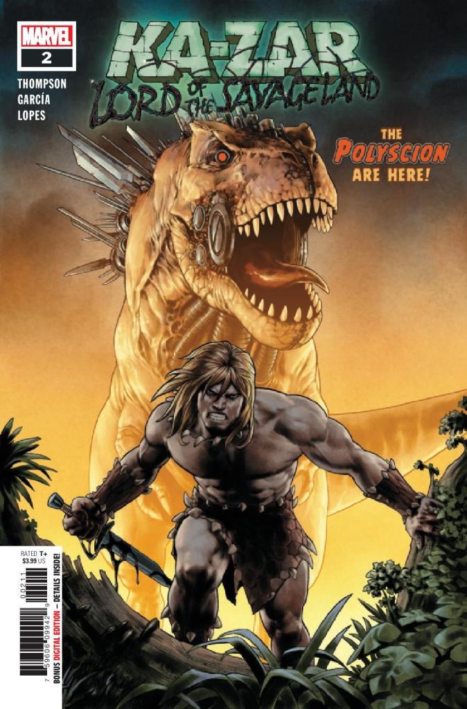 Ka-Zar: Lord of the Savage Land #2 (of 5)