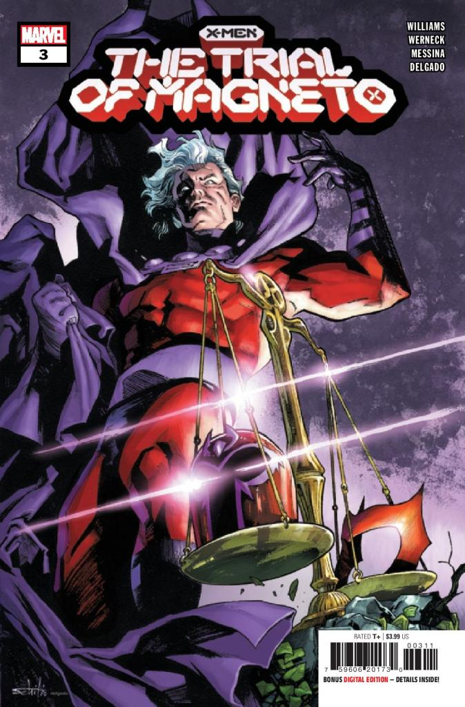 X-Men: Trial of Magneto #3 (of 5)