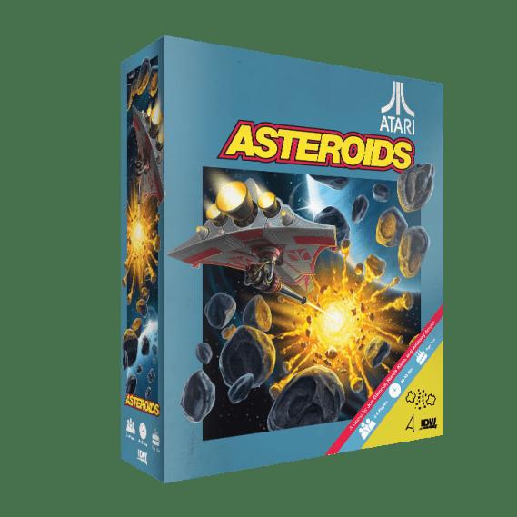 Asteroids Board Game