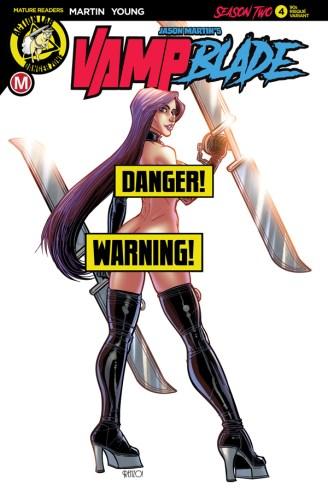 Vampblade Season 2 #4 Cover F