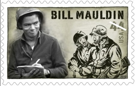 Bill Maudlin Stamp
