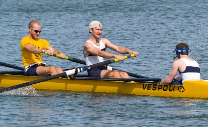 Not only rowing partners... twins!