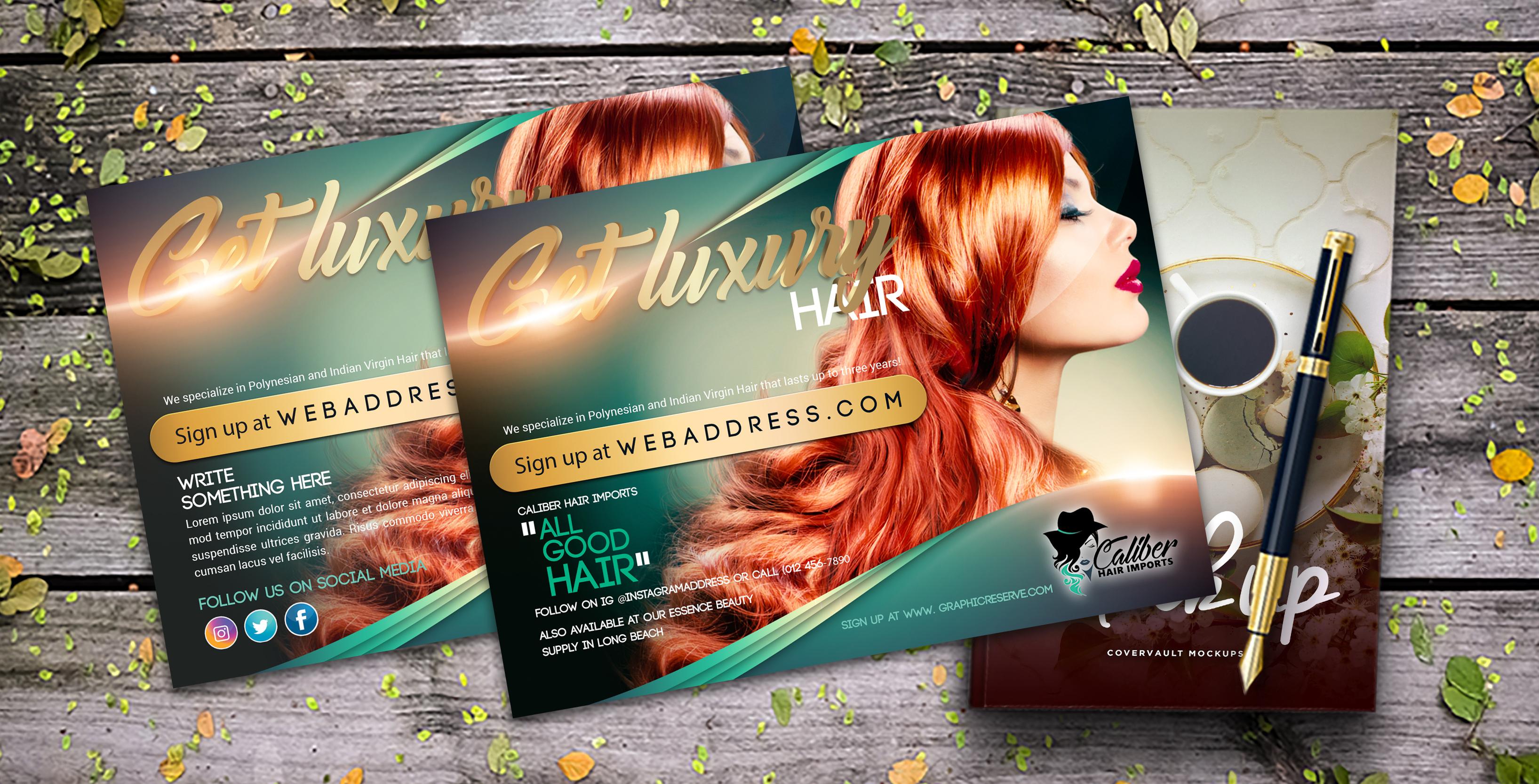 Hair Salon Postcard