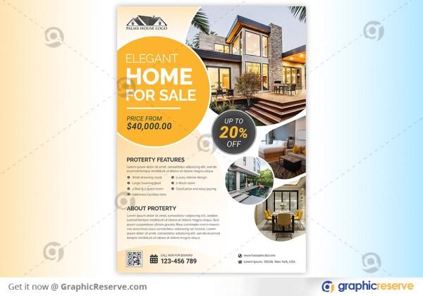 Luxurious Open House Flyer Template