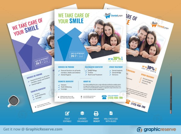 Creative Dental Flyer Template