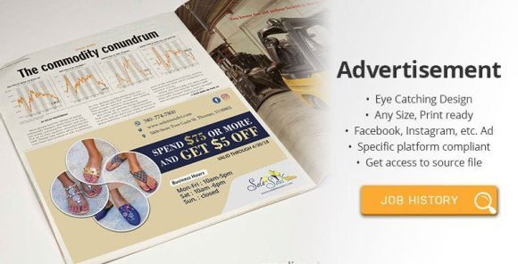 We Will Design Awesome Advertisement