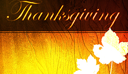 Happy Thanksgiving free graphic, card or background