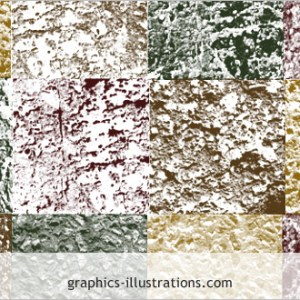 Photoshop brushes set: Stone textures (Photoshop 7.0, CS, CS2, CS3)