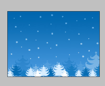 Christmas card - Photoshop tutorial