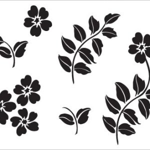Free Download Adobe Illustrator Symbols (floral)
