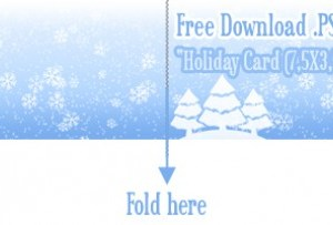 Free Download: Christmas Card Template