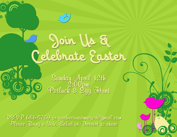Join us and celebrate Easter!