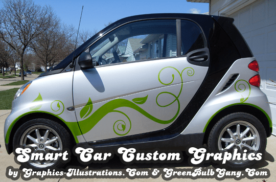 Smart Car Custom Graphics