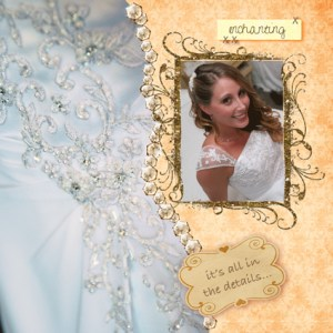 Wedding Digital Scrapbook by Kira
