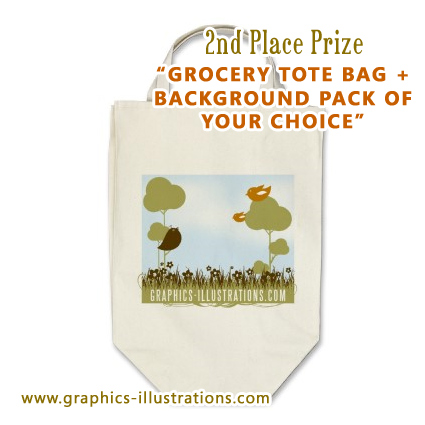 Graphics-Illustrations.Com Grocery Tote Bag