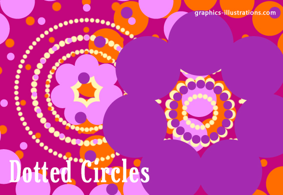 New Free Photoshop Brushes Set: Dotted Circles