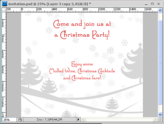Christmas Party Invitation 7