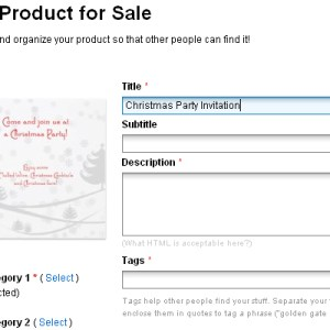 Creating Christmas Party Invitation /w Christmas Photoshop brushes (Part Two)