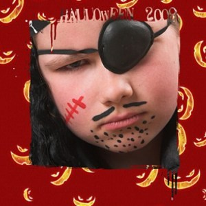 Halloween Photo Masks Photoshop Brushes set (5+5)