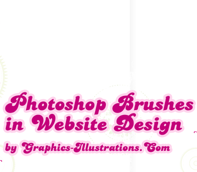 Photoshop Brushes and Website (Graphic) Design