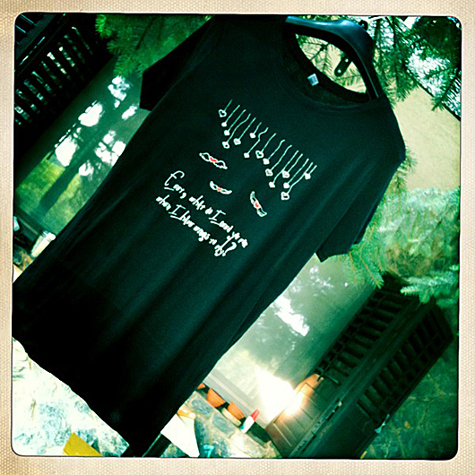 flying heart t-shirt