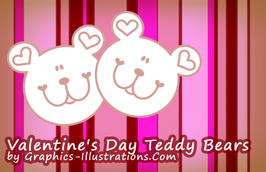 Valentine's Day Teddy Bears