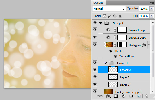 Dreamy Portrait How To Make It in Photoshop