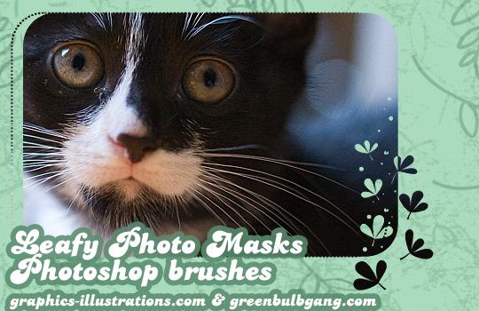 Leafy Photo Masks