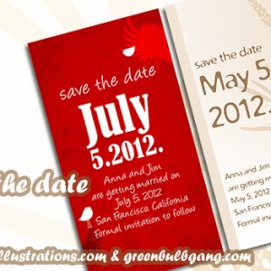 Save The Date Free Card Designs