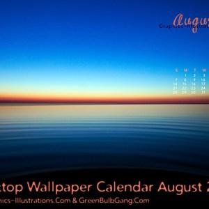 Desktop Wallpaper Calendar August 2011